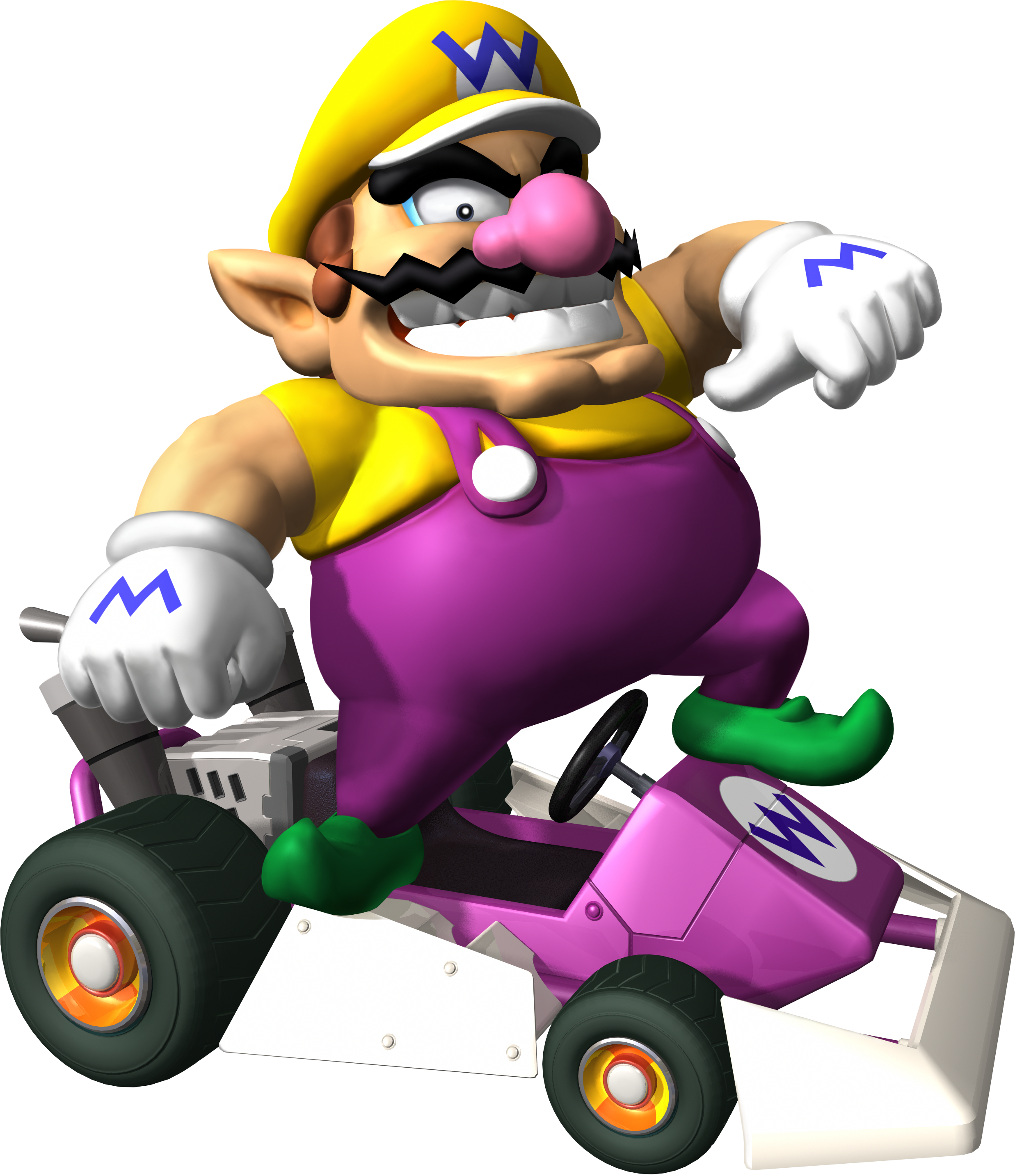 Donkey kong mario kart wii car tuning - How To Draw Wario And Car From Wii Mario Kart Game Drawing Lesson How To Draw Step By Step Drawing Tutorials Donkey Kong