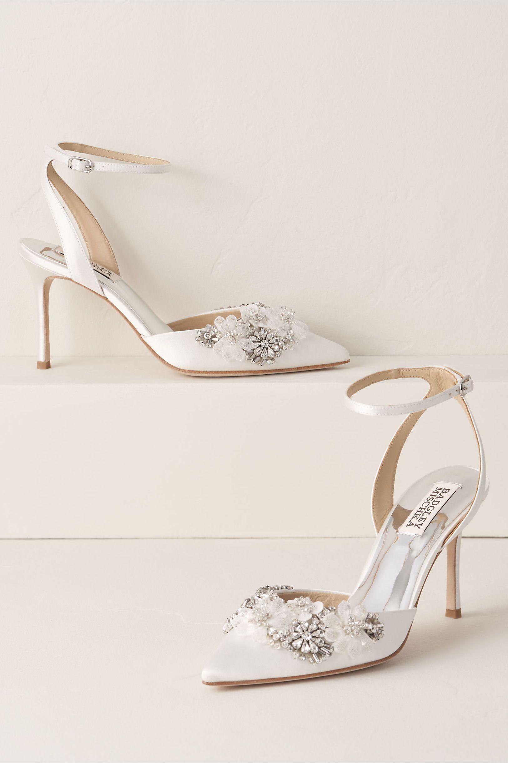Badgley Mischka Alice Heels Wedding Shoes Bridal Shoes Designer Wedding Shoes
