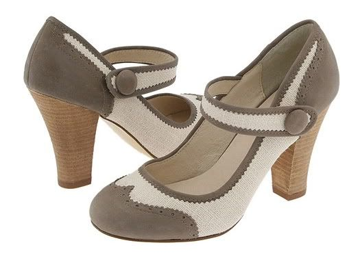 Steve Madden Ruthy (Taupe Multi) - Mary-Janes Dress Shoes