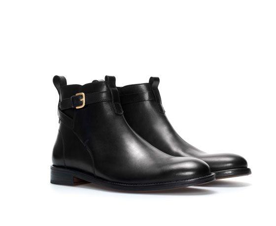 new arrival 87f1b be1ab Botn Piel Zapatos Zara Hombre T Edition vwAAzTFq