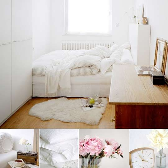 Best Look All White Bedroom With Warmth And Texture Small 640 x 480