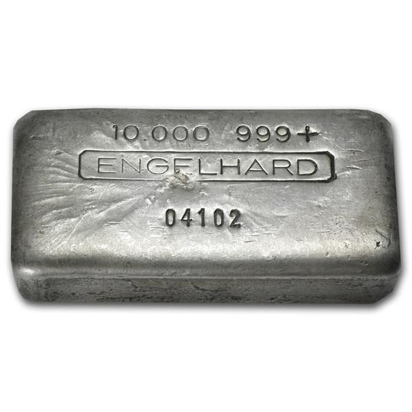 Beautiful And Rare 10 Oz Engelhard Silver Bars Vintage Poured We Buy Sell Silver In 2020 Buy Gold And Silver Buy Gold Jewelry Gold Bullion Coins