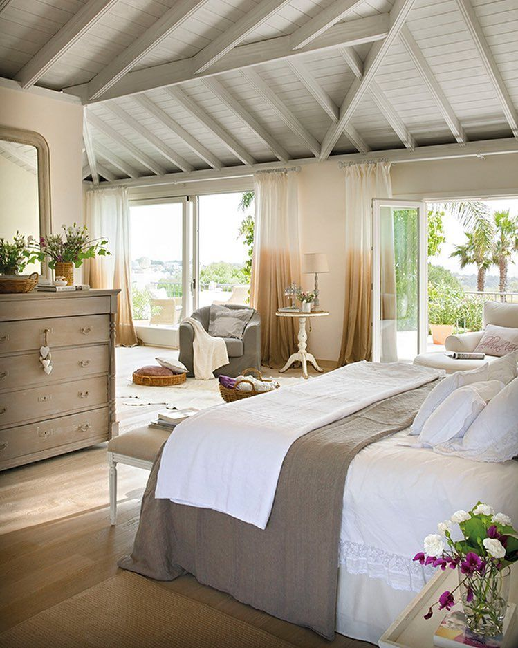 Calm, neutral bedroom. | Bedroom | Pinterest | Bedrooms, House and ...