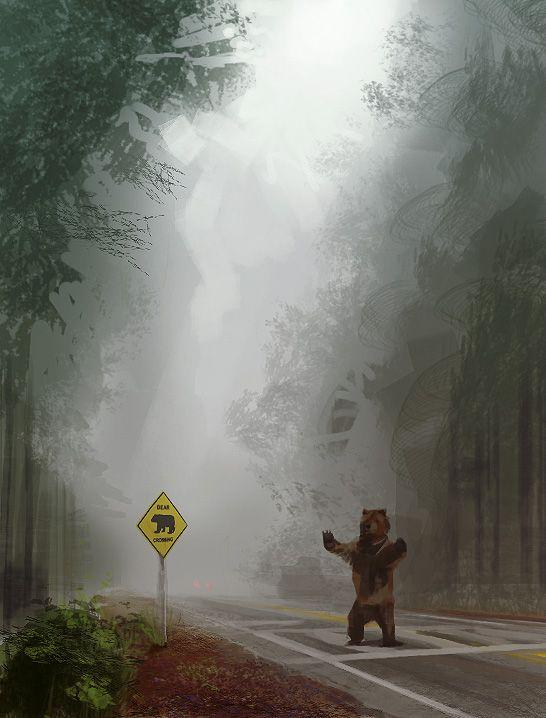 Bear Crossing by FinalKnight6.deviantart.com on @deviantART