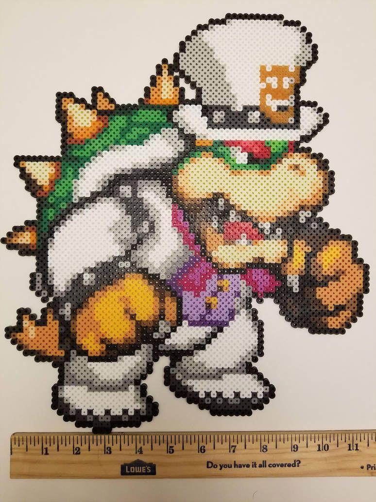 Super Mario Odyssey Bowser Perler By Jrfromdallas Mario