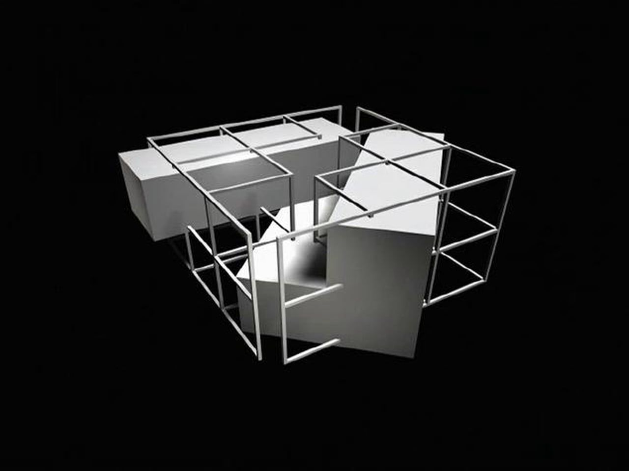 Peter eisenman house ii google search concept models for Architectural concept models