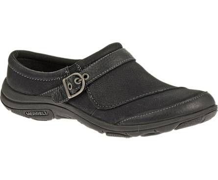 merrell dassie slide  black work shoes boots women