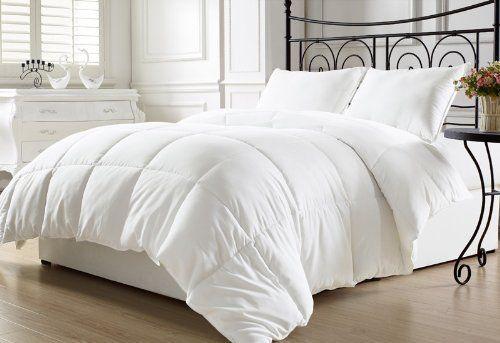 Chezmoi Collection White Goose Down Alternative Comforter Duvet Cover Insert Full Queen Http Www Ama Duvet Comforters Comforter Duvet Cover Down Comforter