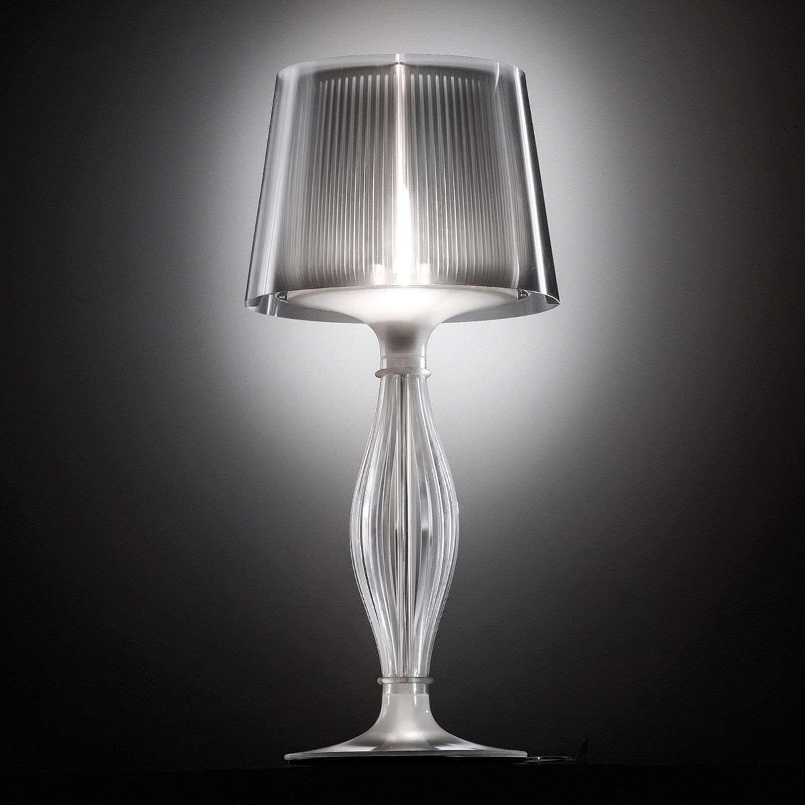 Lampe A Poser Transparente Liza De Slamp Lampes De Table Lampe A Poser Et Transparent