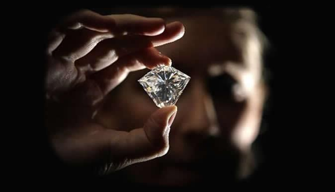 Diamond Fact #137:    The origin of dimaond may have been uncovered in the twentieth century, but appreciation for diamond has been known since diamond discovery in India, prior to 400 B.C.E.1