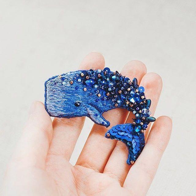 Do It Yourself Jewelry: Niem Erze Hand Embroidery Jewelry.
