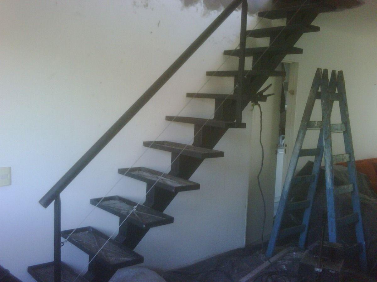 Herreria de obra bnk acero inoxidable escaleras rejas 6145 for Escaleras de herreria