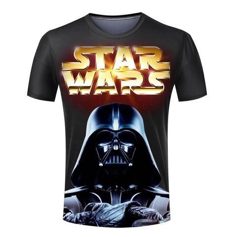 18dc58c8 3D Printed Star Wars T-Shirt | Star Wars Collectibles | Star wars ...