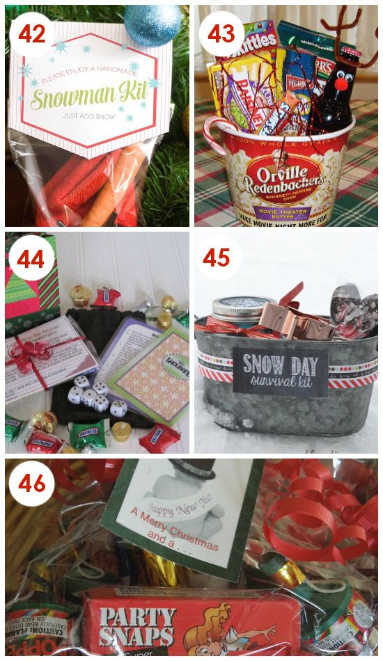Quick And Easy Christmas Neighbor Gifts