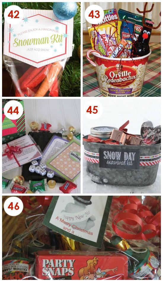 101 Quick and Easy Christmas Neighbor Gifts | Pinterest | Nachbar ...
