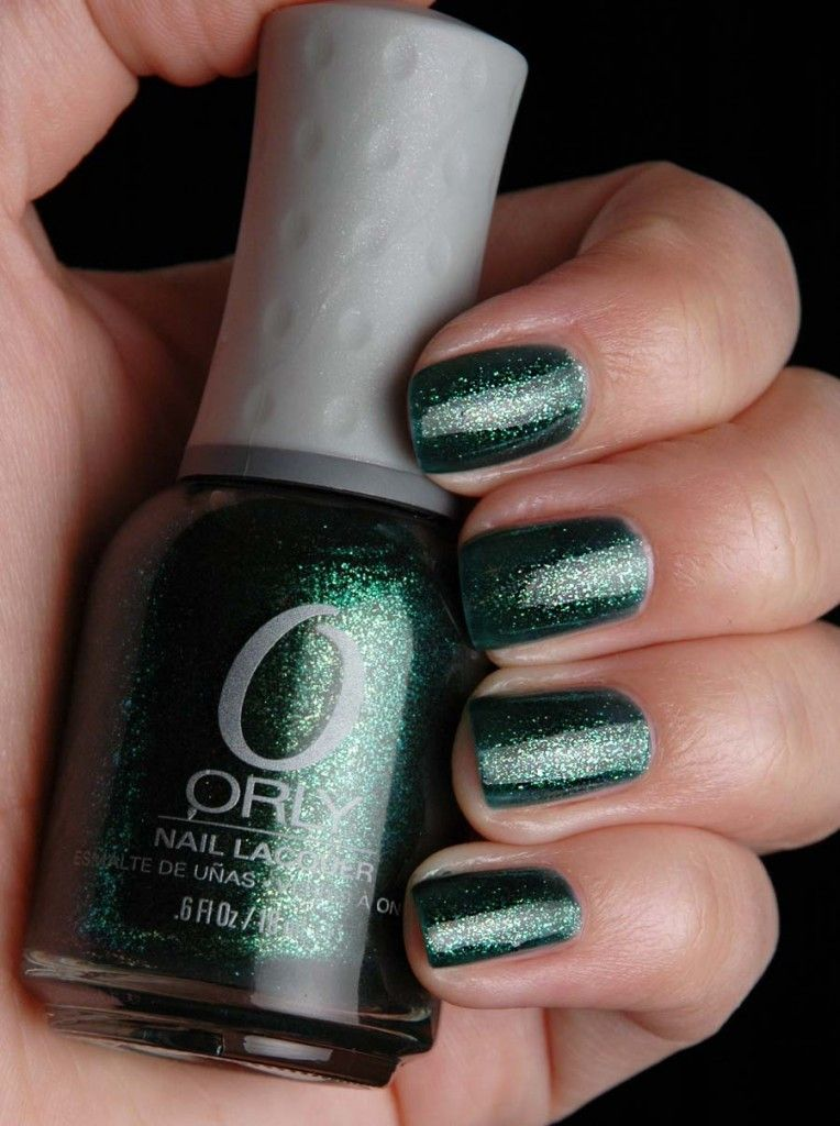 Orly Under The Mistletoe Nail Art Other Fashion Stuff Pinterest