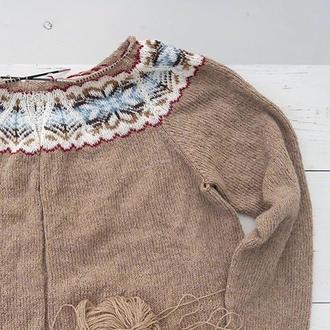 Shetland Yoke | Knitting by me | Pinterest | Best Fair isles and ...