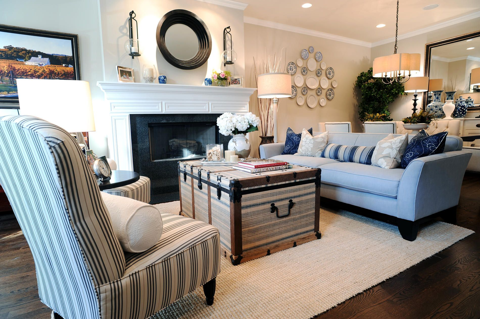 Beach Style Living Room Ideas  Beach living room, Coastal