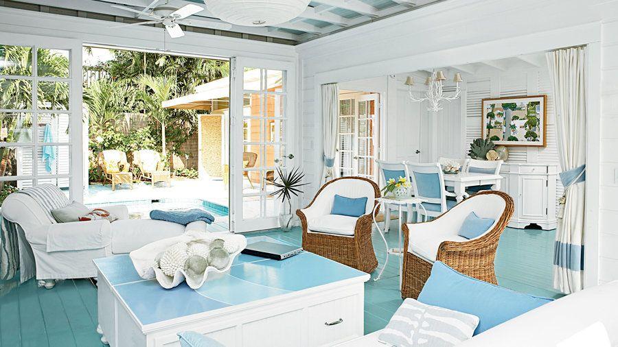 Key West Homes Key West Cottage Coastal Living Rooms Beach Cottage Style