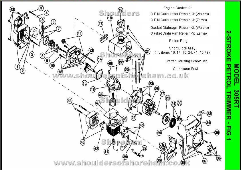 Small Engine Parts Diagram Stihl Fs55 Online Schematic Diagram