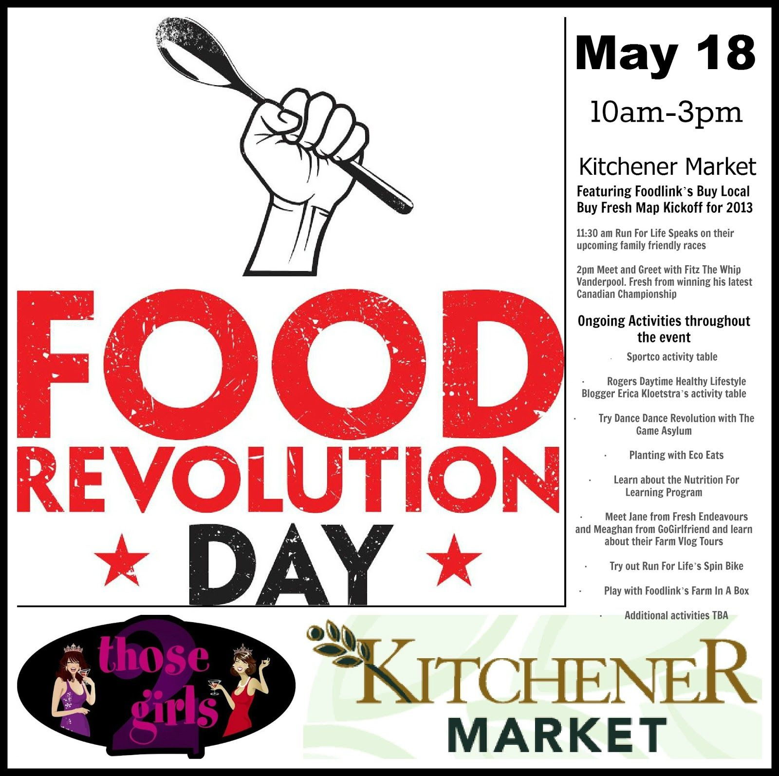 Join us at Food Revolution Day @ The Kitchener Market!   Food Rules ...
