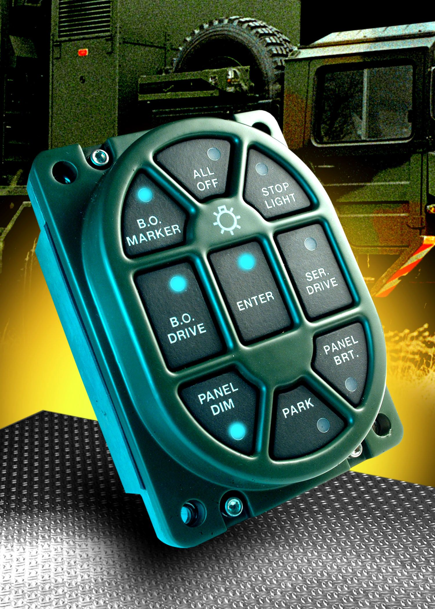 Military Vehicle Light Switch | jeep | Vehicles, Truck mods