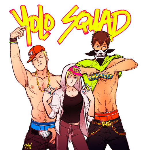 wasabu I LOVE HOW THUG THESE THREE CAN BE! ENJOY THEM IN