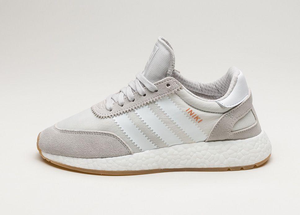 Adidas Iniki Runner W ftwr (gris / ftwr W blanco / GUM) LPU sneaker 3b269d