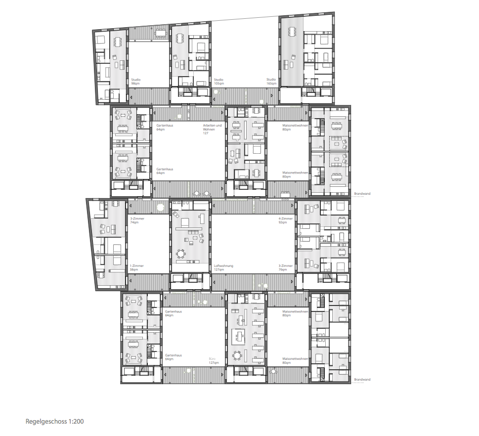 Cluster House Floor Plan: Pin By Ilir Blakaj On Grundrisse