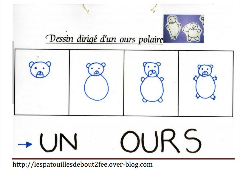 Dessin dirig de l 39 ours boucle d 39 or arts visuels pinterest dessin boucles et cole - Comment dessiner un ours ...