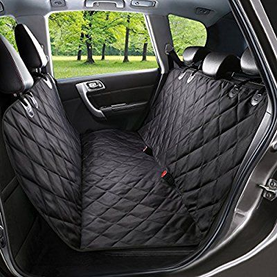 Amazon WENFENG Pet Seat Cover Waterproof Scratch Proof Dog Car Covers Hammock Convertible Non Slip Backing With Anchors