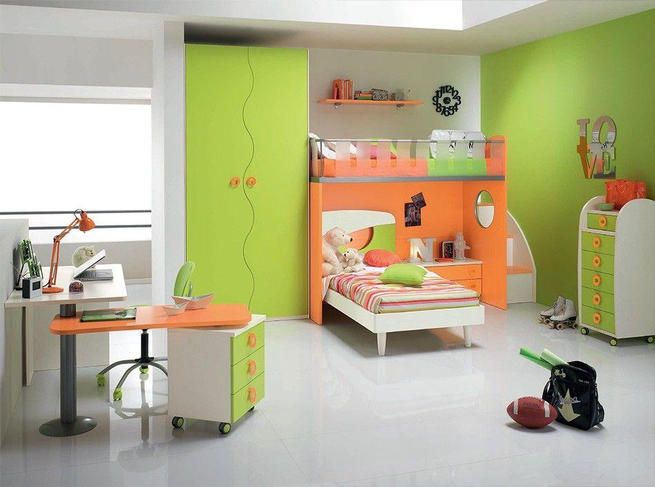 Spar Twin Kids Bedroom Set Web 67 Made In Italy Modern Kids