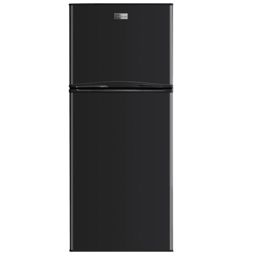 Frigidaire 10 Cu Ft Top Freezer Refrigerator In Black Energy Star Ffet1022qb The Home De With Images Top Freezer Refrigerator Refrigerator Apartment Size Refrigerator