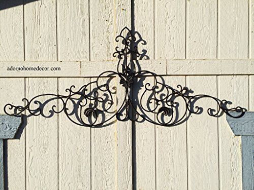 Large Tuscan Wrought Iron Metal Wall Decor Adornohomedecor Https