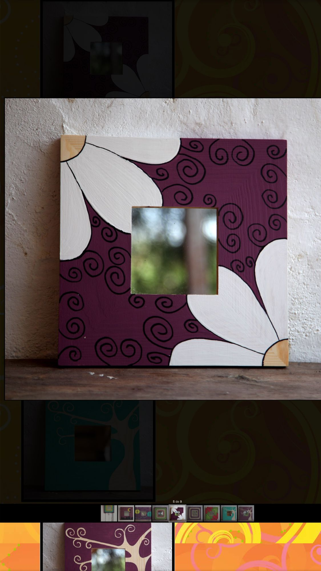 Pin de Alba Lucia Juliao en Cuadros | Pinterest | Marco espejo ...