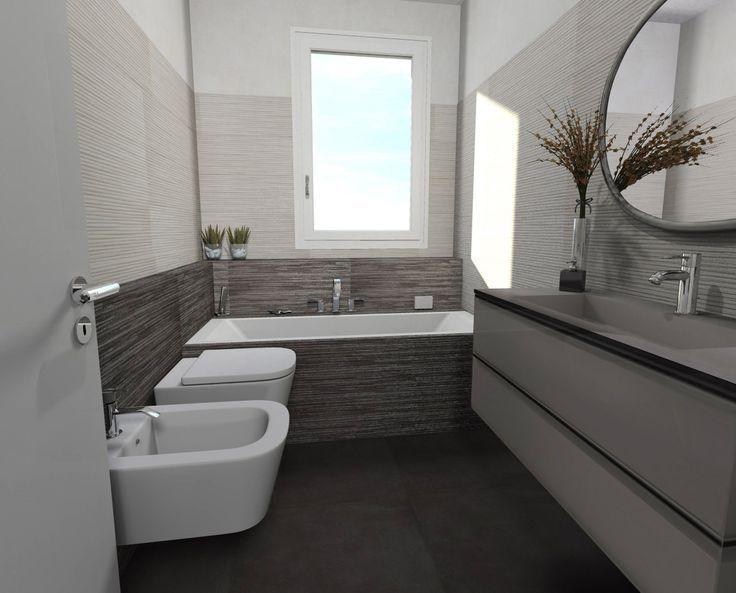 Risultati immagini per idee bagno moderno doccia angolare