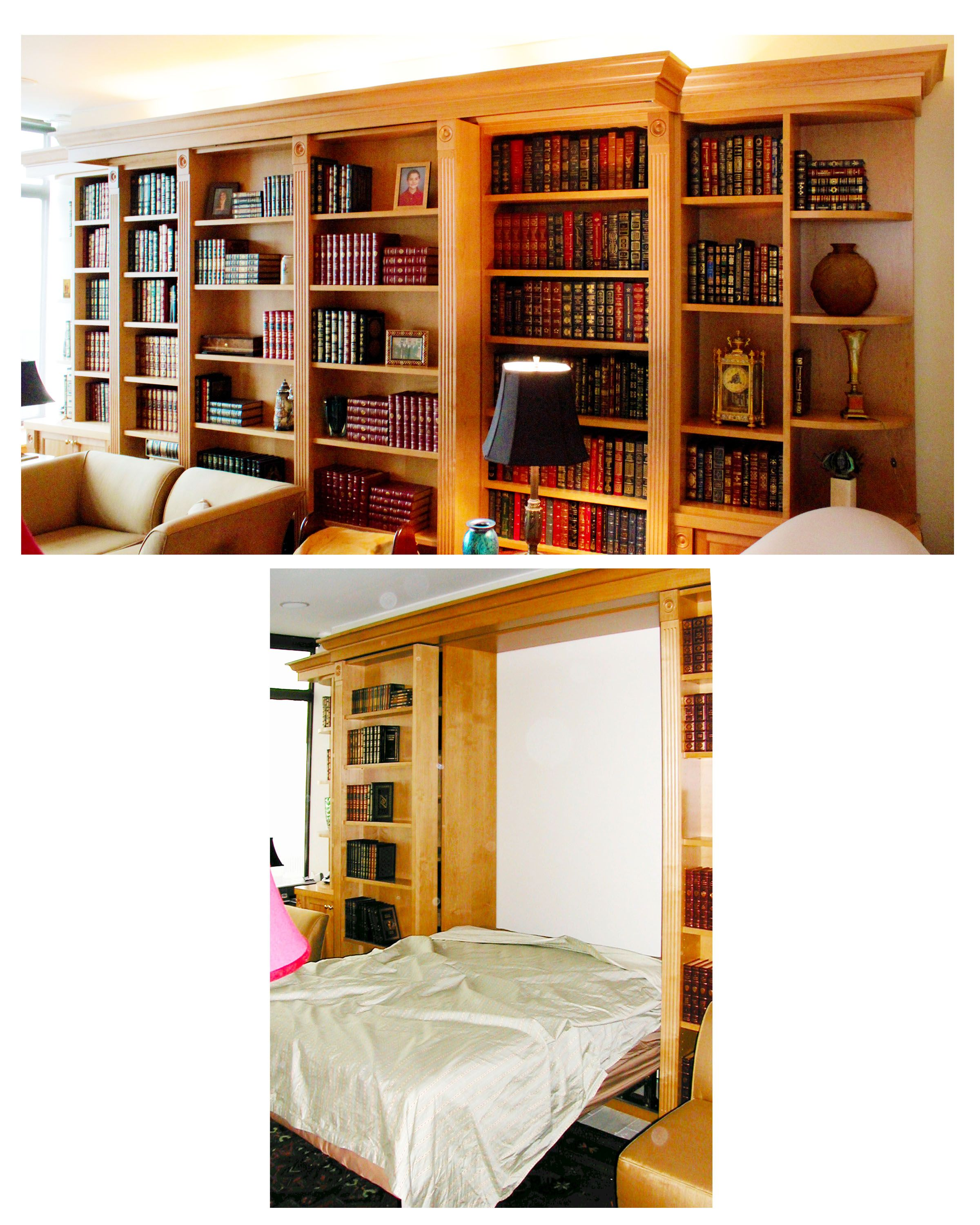 Bookcases murphy bed bed murphy bed plans