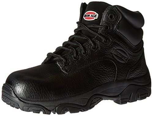 fresh styles factory outlet good texture Iron Age Womens IA507 Trencher Fire and Safety Shoe *** Details ...