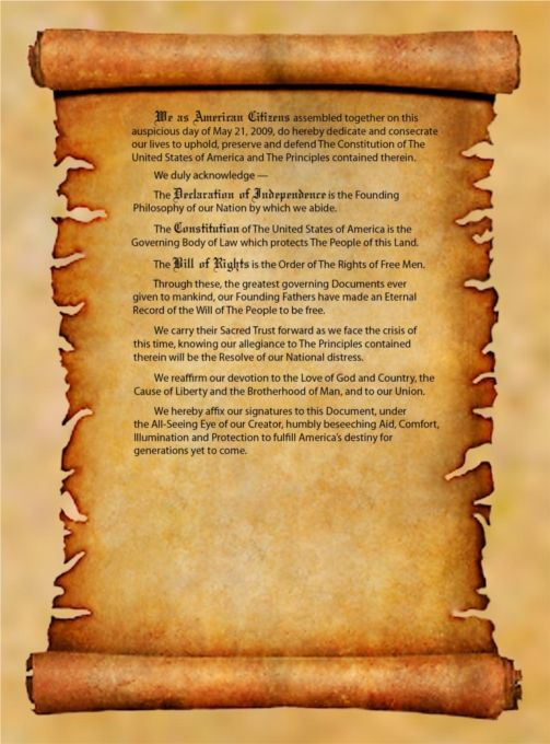 Constitution Scroll Paper Printable - Clipart Library •