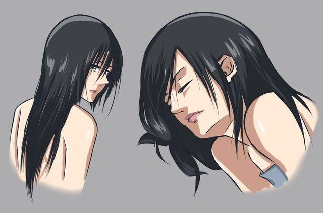 Mikasa Ackerman With Long Hair Ataque Dos Titas Personagens Titas
