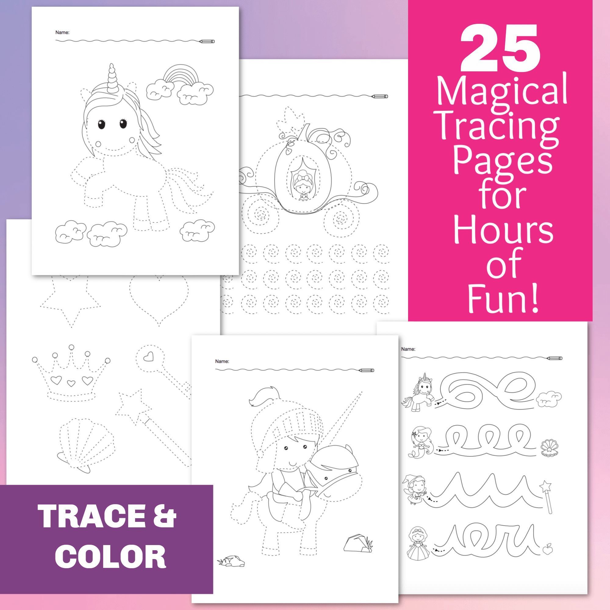 25 Magical Tracing Worksheets For Handwriting Practice