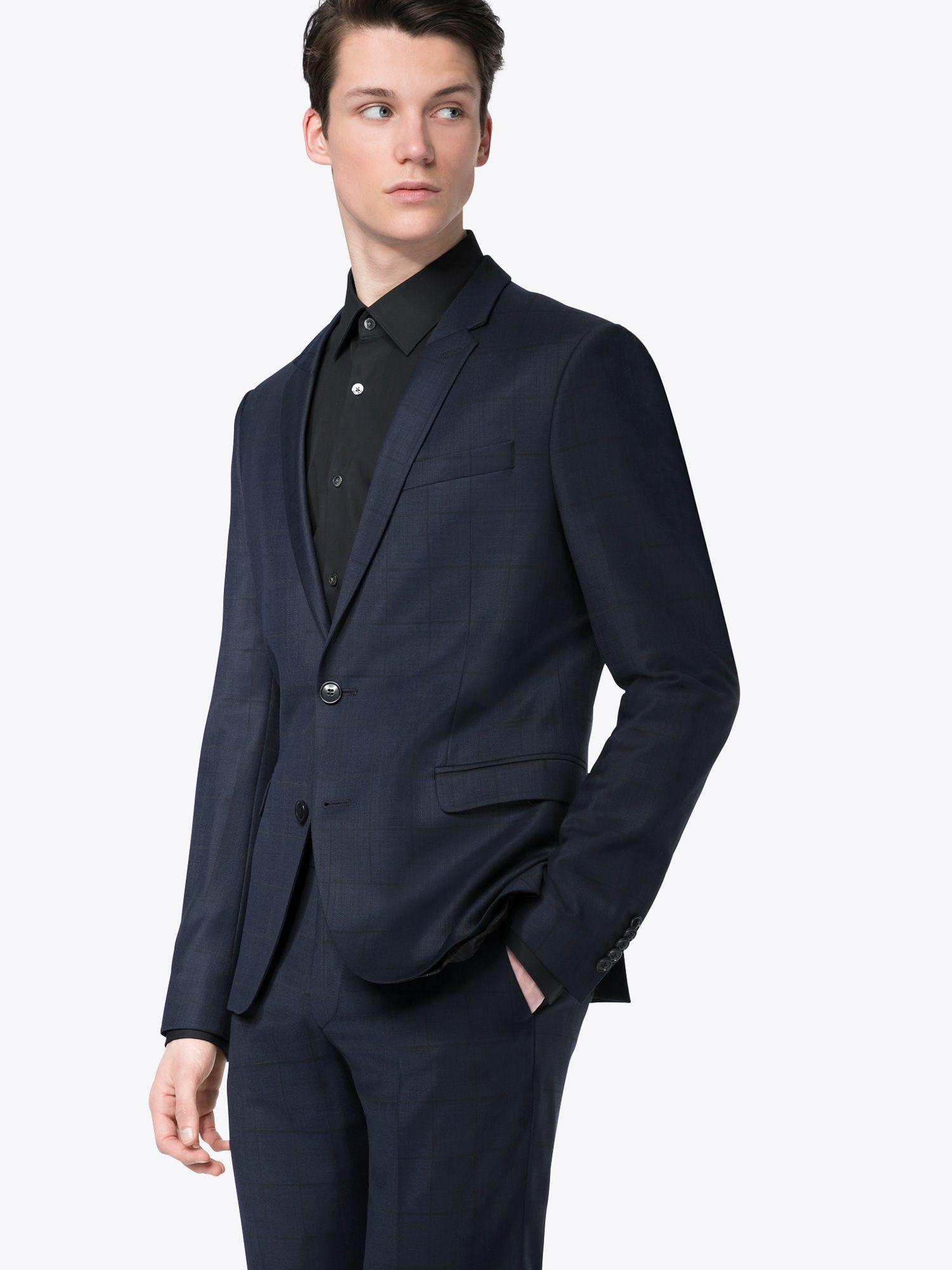 Drykorn Herren Anzug in Dunkelblau