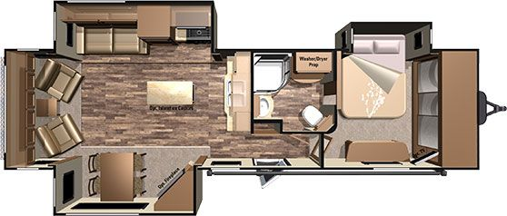 Jt337rls With Images Travel Trailer Floor Plans
