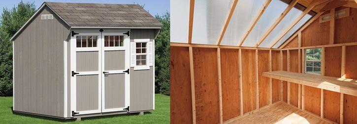storage sheds pa outdoor wood storage shed amish backyard - Garden Sheds Pa
