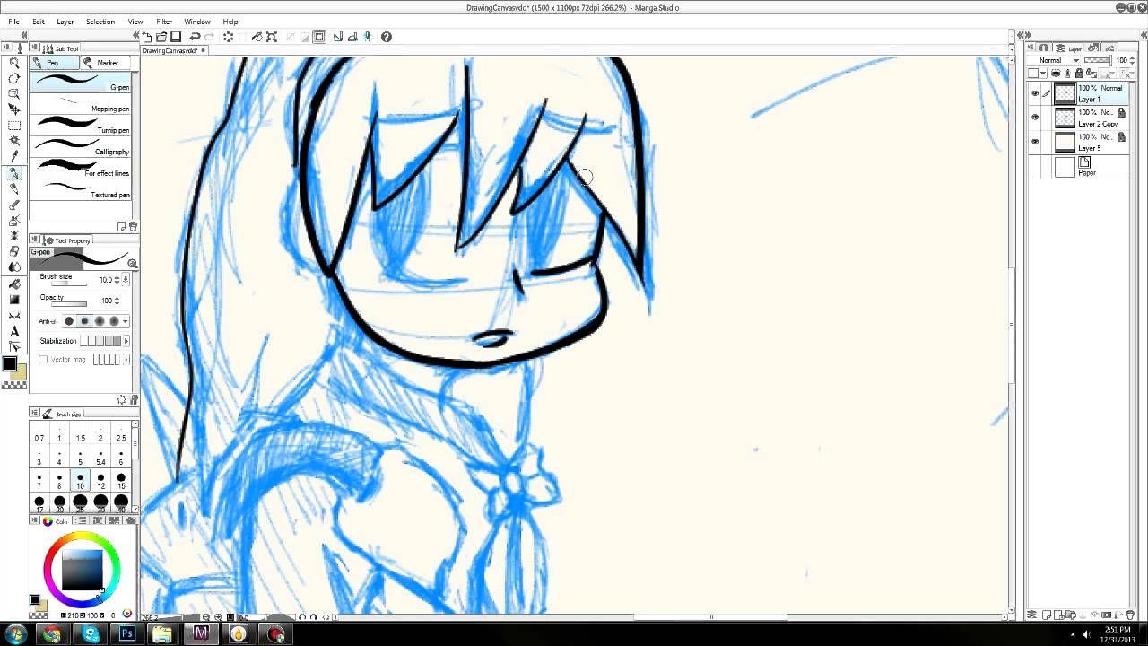How To Do Line Art In Mangastudio 5 New Manga Studio Tutorial Line Art Digital Painting Tutorials