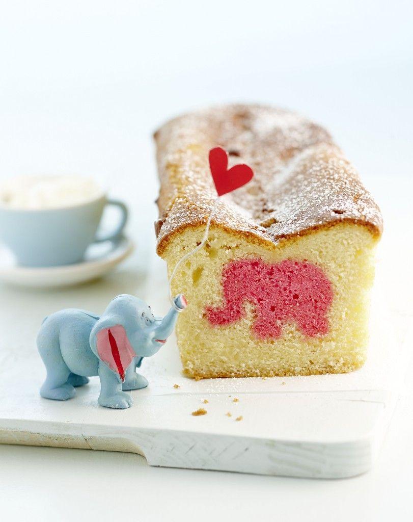 hurra ein rosaroter elefantenkuchen selbstgemacht pinterest kuchen. Black Bedroom Furniture Sets. Home Design Ideas