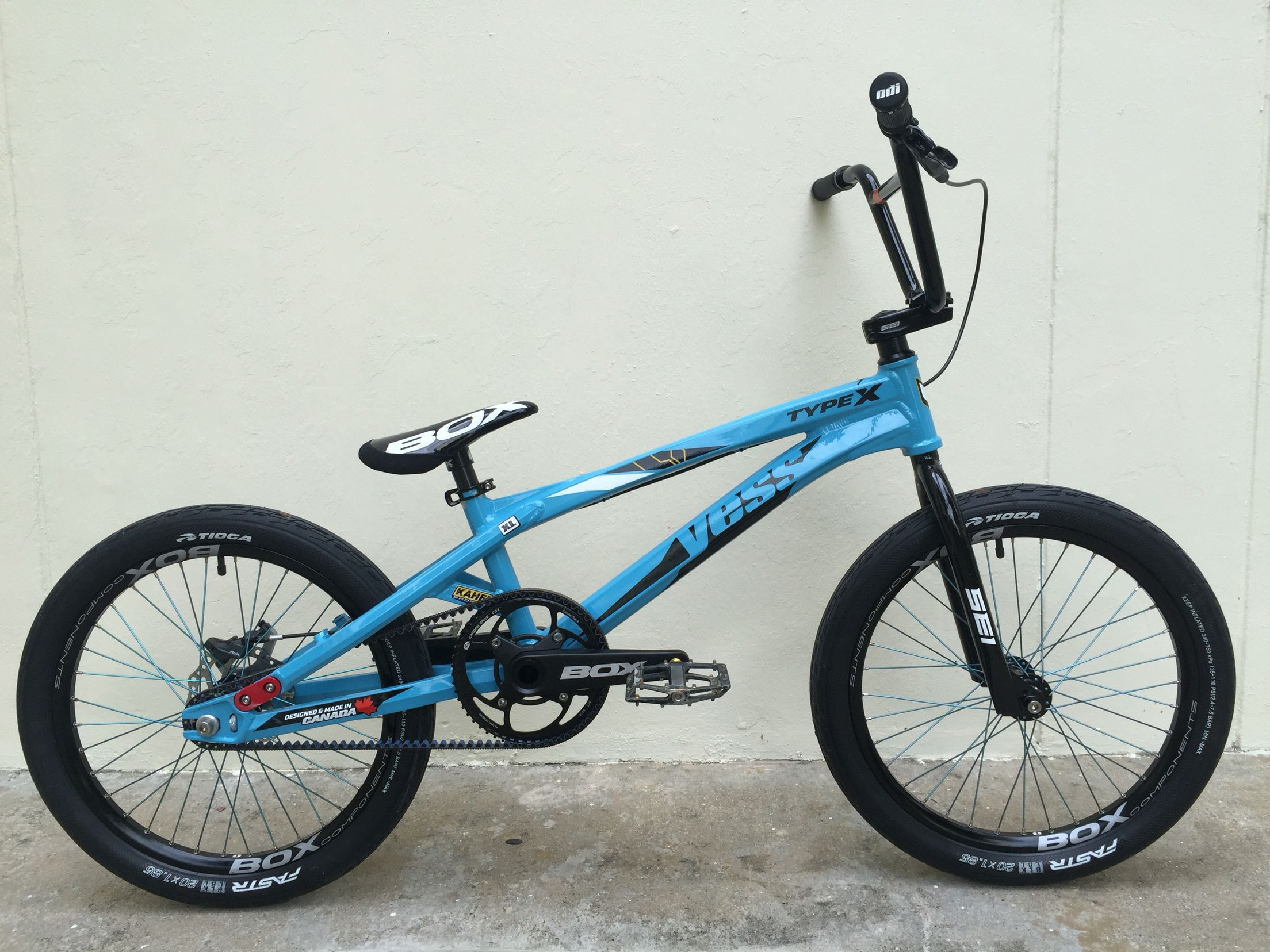 Lovely Version 2: YESS BMX Type X Gates Carbon Drive Production, Onyx Hubs, Box  Components, Rear Disc. Mad Ride.