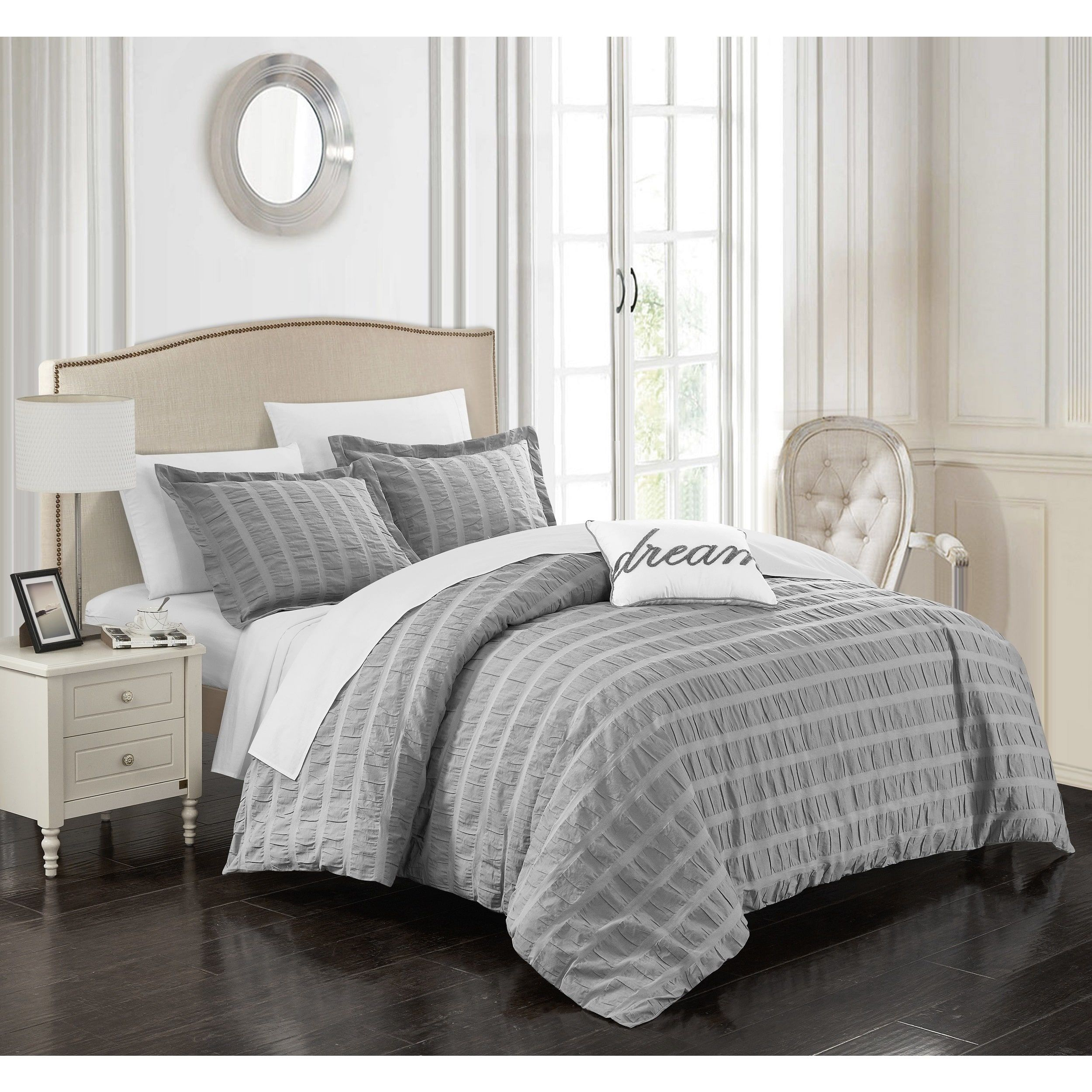 Chic Home Tornio 4 Piece 100% Duvet Cover Set | Products | Pinterest ...