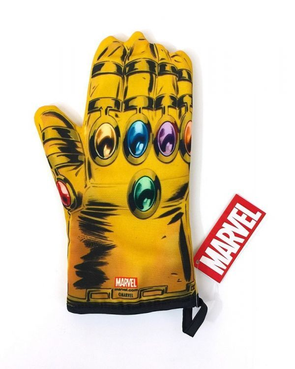 Man S Infinity Gauntlet Oven Mitt Is Melted By Pizza Rolls