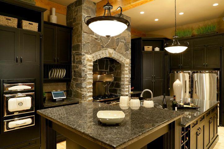 Captivating Black Granite Countertops Flat Finish | Granite Countertops